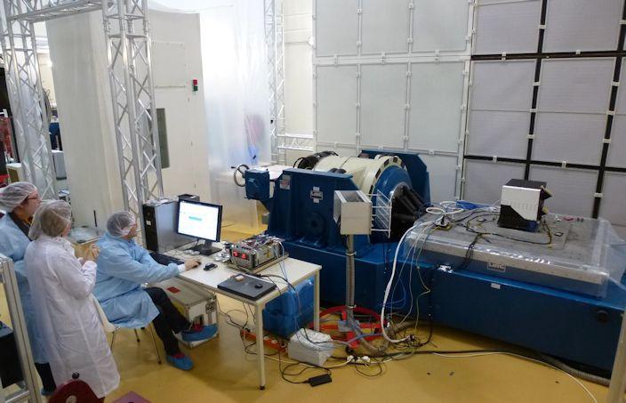 NOMAD Mars instrumet shock test